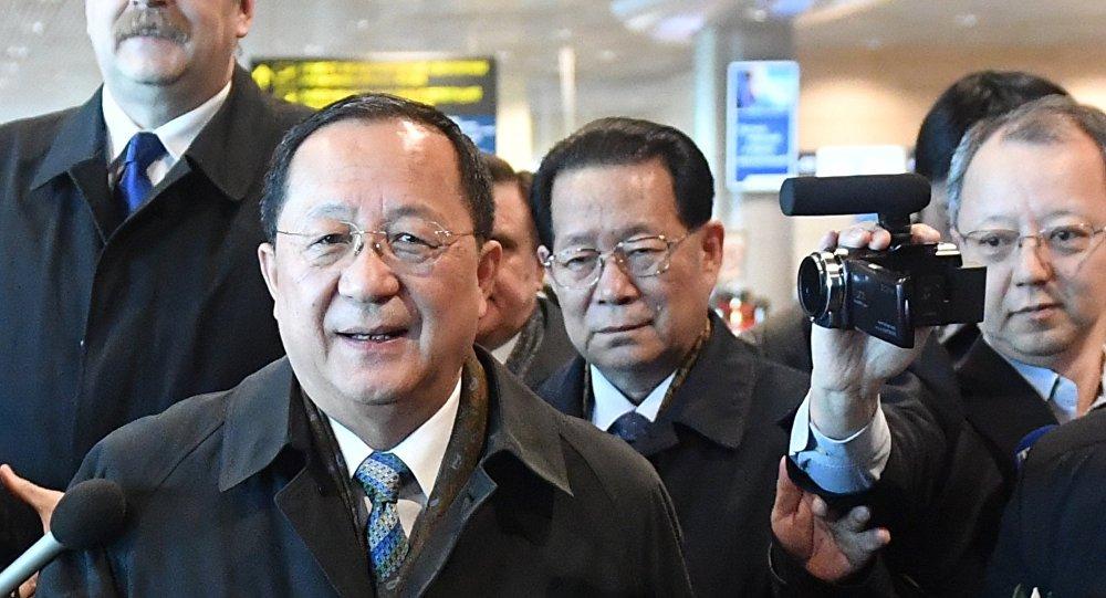 وزير خارجية كوريا الشمالية لي يون هو