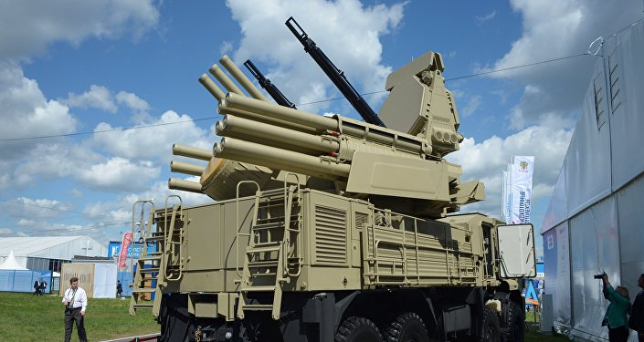 نظام دفاع جوي أرض-جو من نوع بانتسير-إس1