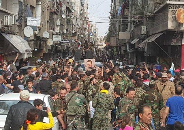 حشود عسكرية في جنوبي العاصمة و داعش أمام مواجهة نارية حاسمة