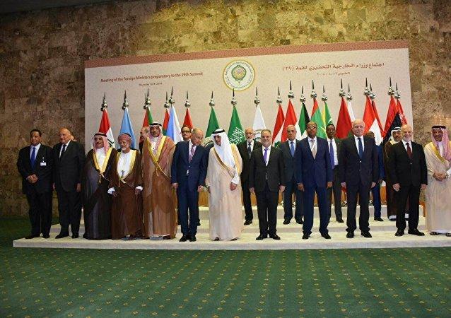 الجلسة التحضيرية لاجتماع مجلس الجامعة العربية