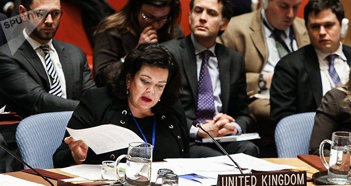 مندوبة بريطانيا الدائم لدى الأمم المتحدة، كارين بيرس