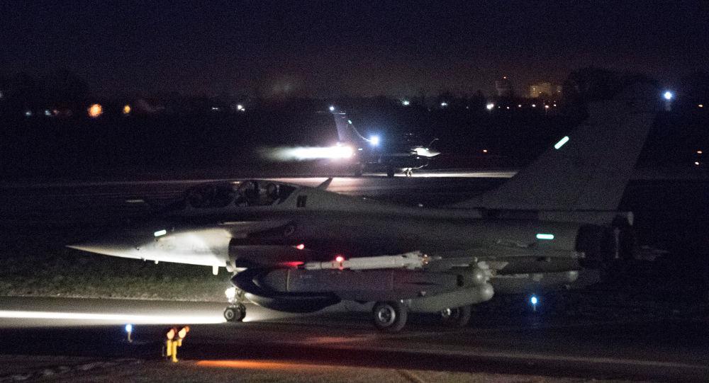 التحالف الثلاثي - الطيران العسكري الفرنسي يستعد للضربة الجوية ضد سوريا، 14أبريل/ نيسان 2018