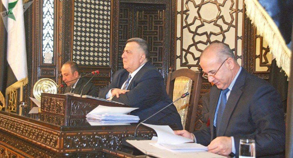 أمين سر مجلس الشعب السوري النائب خالد العبود