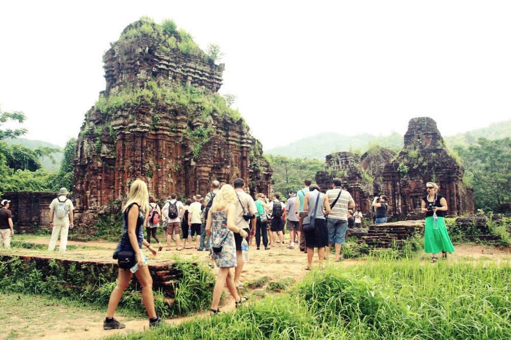 مجمع المعابد الهندوسية في ميشون في فيتنام