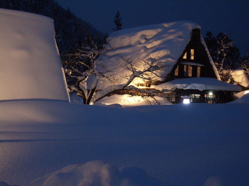 قرية جوكاياما في اليابان