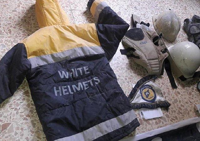 ألبسة واقنعة واقية وأخرى خاصة بلباس الدفاع المدني أو ما يعرف بالخوذ البيضاء