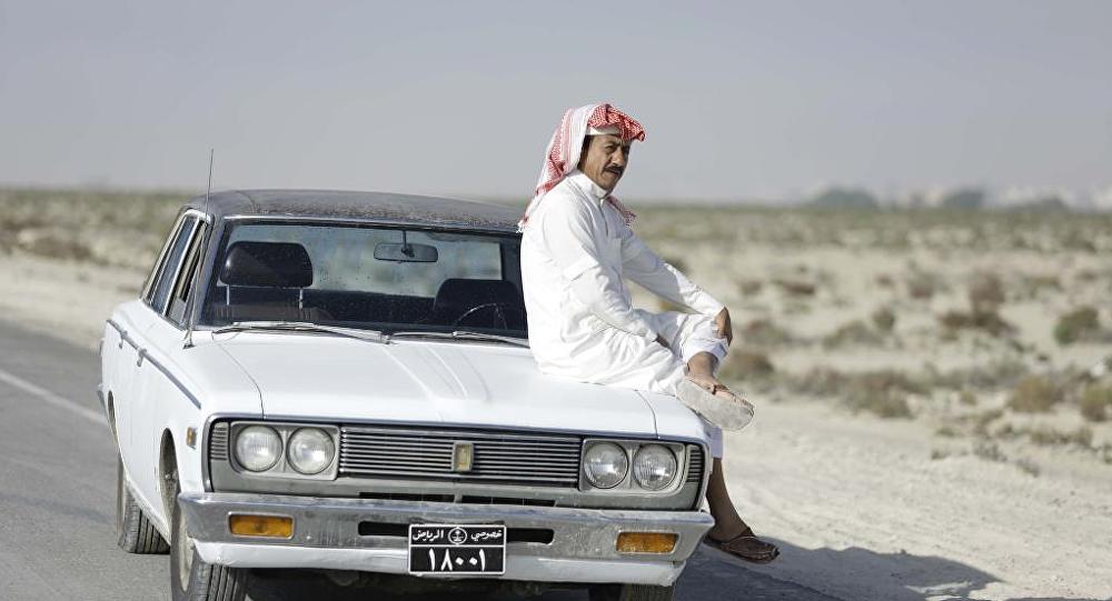 الممثل السعودي ناصر القصبي في مسلسل العاصوف