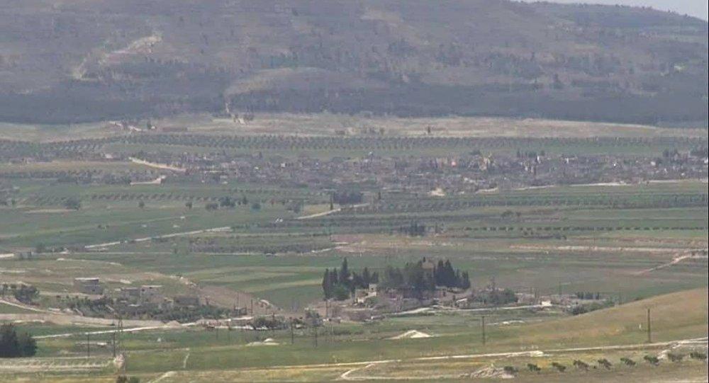 ريف حمص الشمالي وسط سوريا