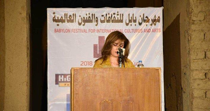 الشاعرة السورية صبا القاسم