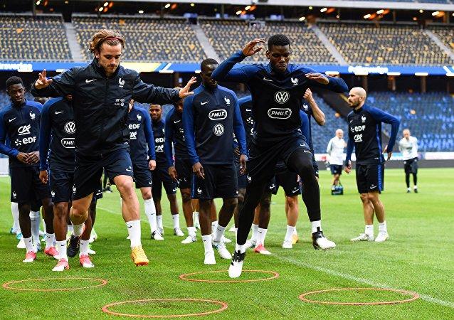تدريبات منتخب فرنسا