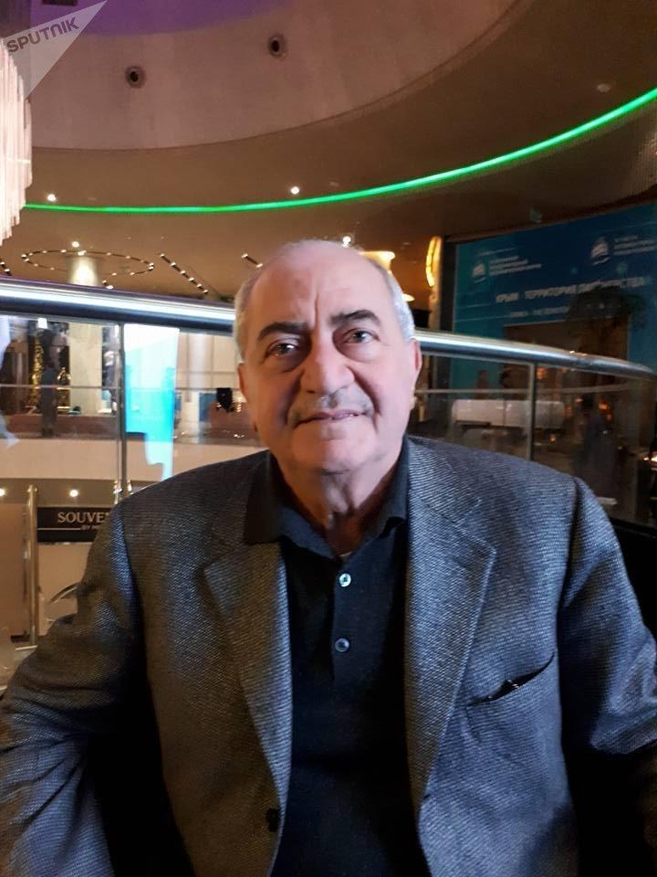 رئيس مجلس الأعمال السوري الروسي سمير حسن