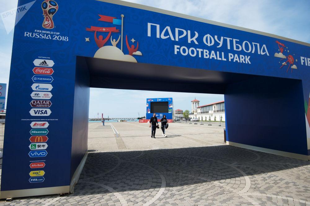 متنزه كرة القدم