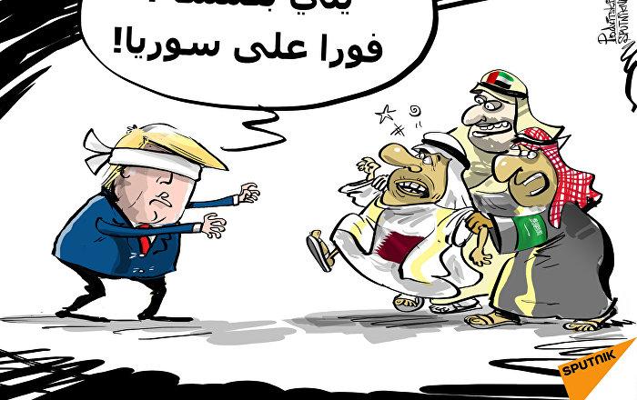 السعودية تورط قطر في لعبة الكماشة الأمريكية