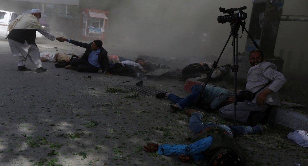 تفجير في أفغانستان يستهدف بعض الصحفيين