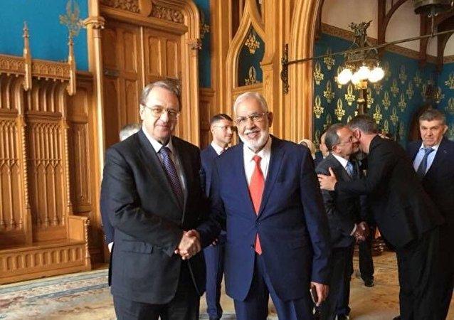 وزير خارجية حكومة الوفاق الليبية محمد طاهر السيالة