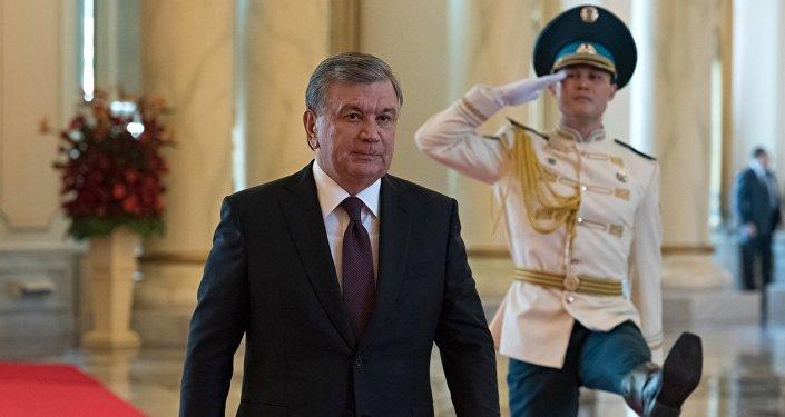 رئيس أوزبكستان شوكت ميرزييف