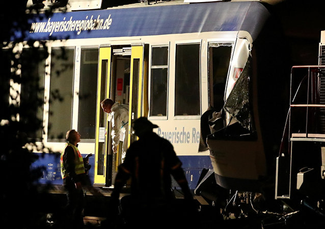 تصادم بين قطارين في ألمانيا