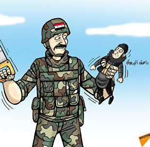 الجيش السوري سيقسم داعش في اليرموك إلى نصفين