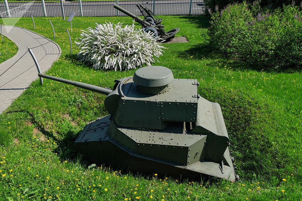 دبابة (MS-1 (T-18