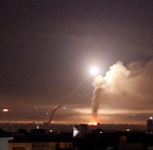 إطلاق صواريخ إسرائيلية على سوريا