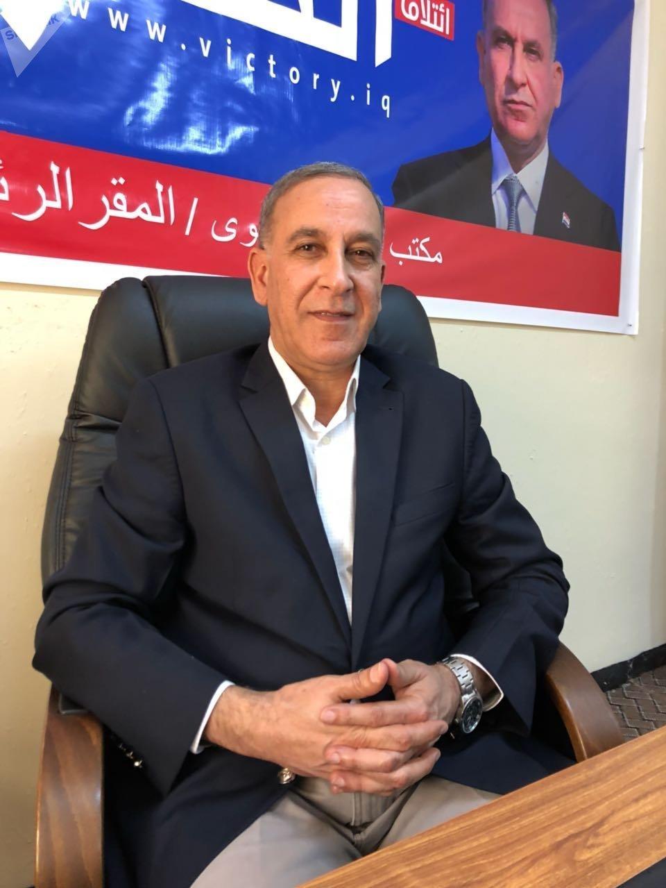 وزير الدفاع العراقي السابق، خالد العبيدي