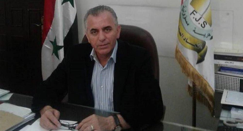 رئيس اتحاد الصحفيين السوريين موسى عبد النور