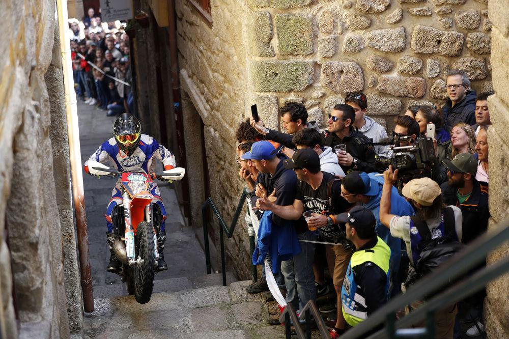 بيلي بولت - سباق الدراجات النارية World Enduro Super Series  في البرتغال،  13 مايو/ أيار 2018
