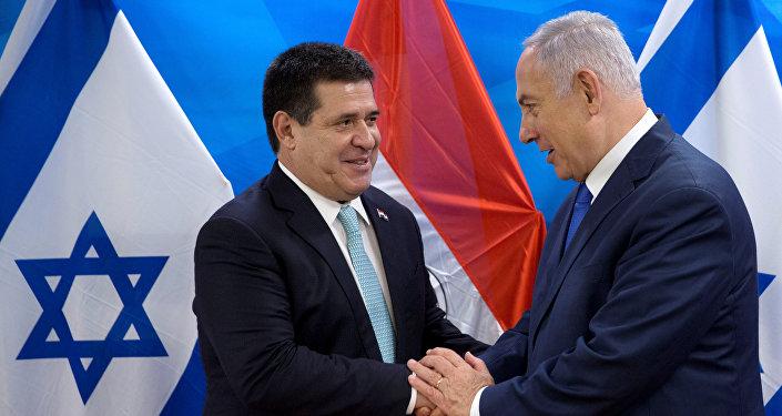نقل سفارة الباراغواي في القدس