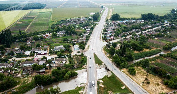 طريق كراسنودار - كيرتش المؤدي إلى جسر القرم