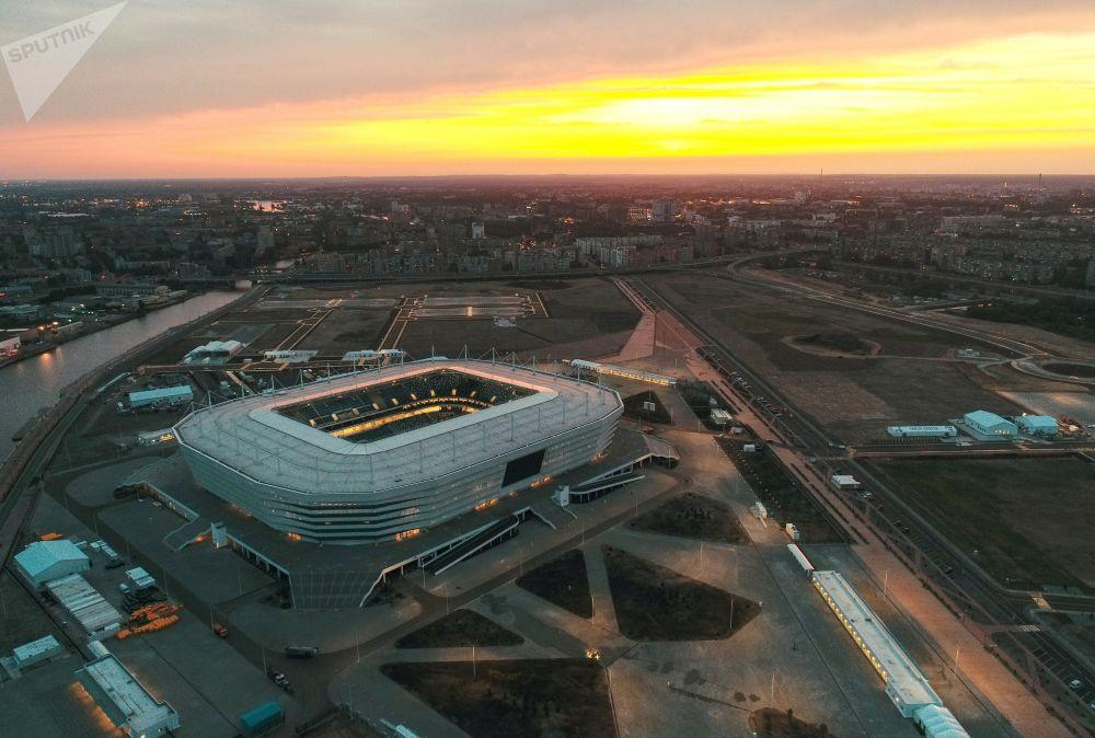 ملعب كالينينجراد أرينا ، أحد ملاعب كأس العالم 2018