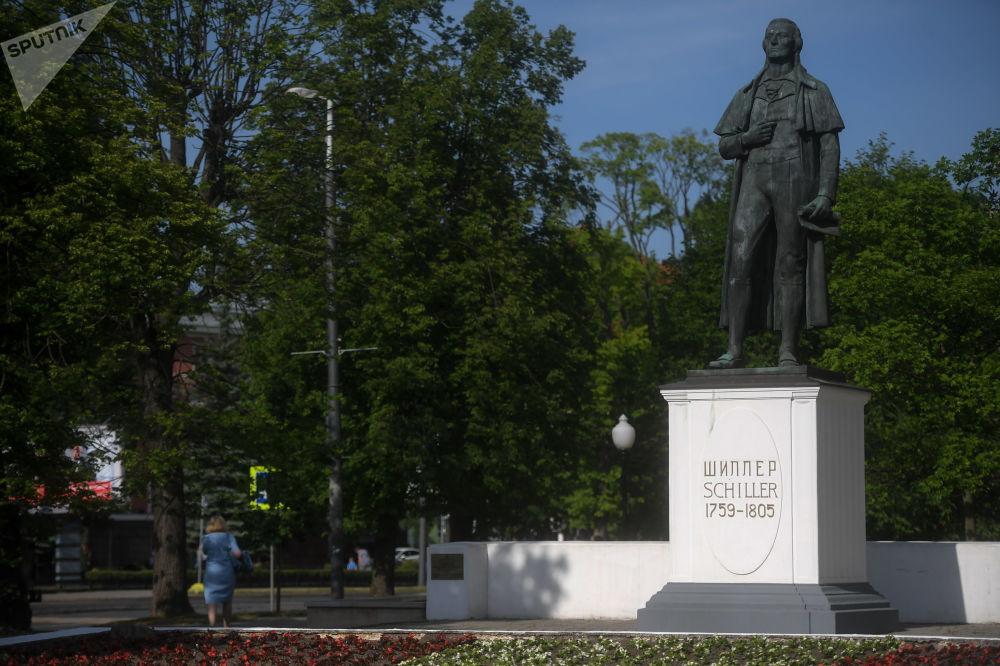 نصب تذكاري لشيلر في كالينينغراد