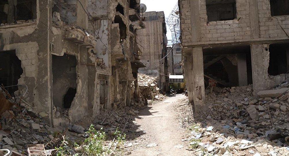 مخيم اليرموك جنوبي دمشق