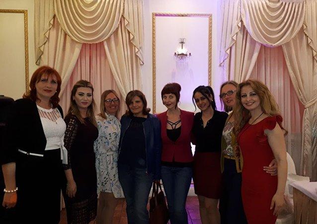 شكيلية سورية تشارك في كسر الأفكار النمطية في روسيا