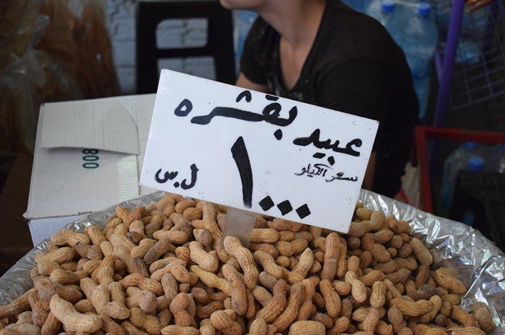 فستق العبيد يباع في دمشق ويعتبر من طقوس شهرالصيام