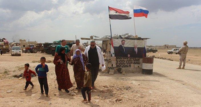 عودة الأهالي بريف إدلب برعاية روسية
