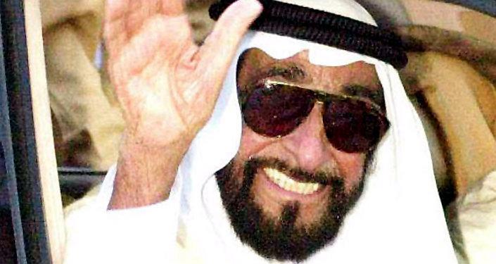 الشيخ زايد بن سلطان آل نهيان مؤسس دولة الإمارات العربية المتحدة