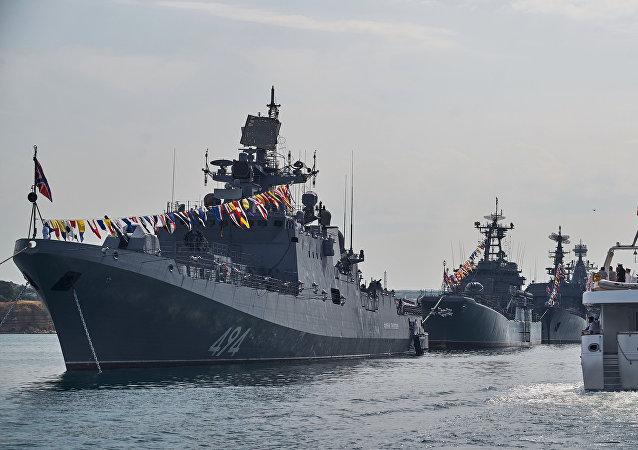 الفرقاطة الروسية الأميرال غريغوروفيتش