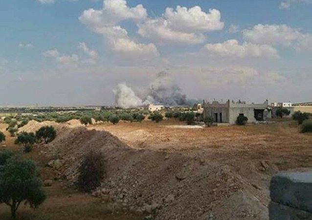 انفجار جنوب شرق إدلب