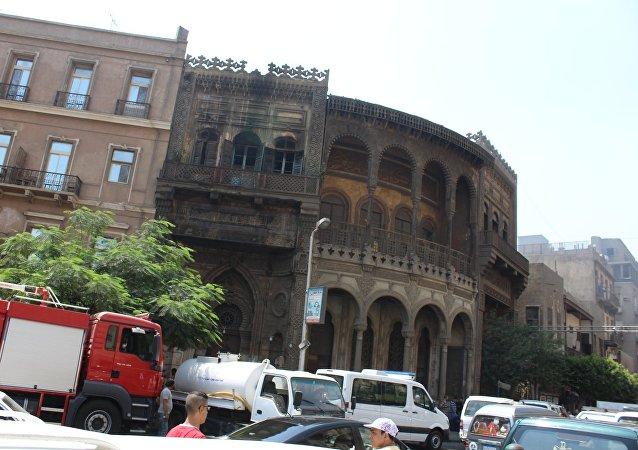 سبيل رمسيس الأثري بالقاهرة