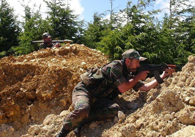 كمائن للجيش السوري في ريف اللاذقية