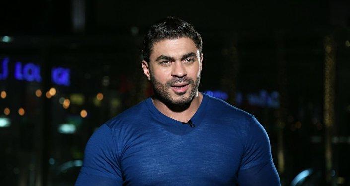 المطرب المصري خالد سليم