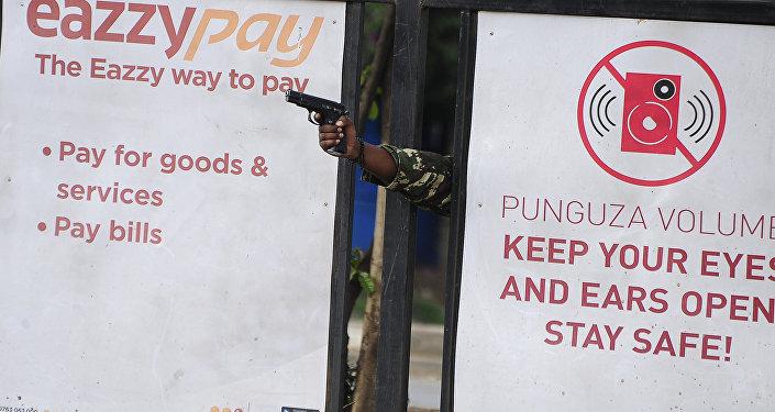 مدافع عن الديموقراطية، للمصور كيفين ميديغو من كينيا