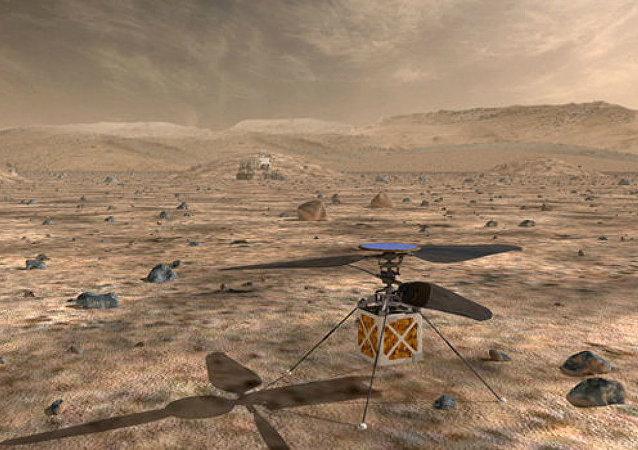 الحوامة التي تنوي ناسا إطلاقها إلى كوكب المريخ سنة 2020