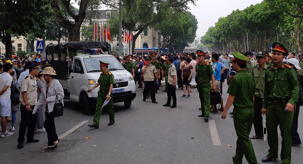 الشرطة الفيتنامية