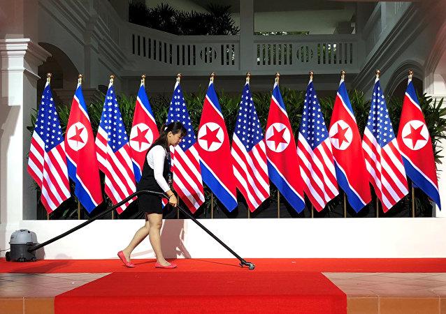 القمة التاريخية بين ترامب وكيم جونغ أون