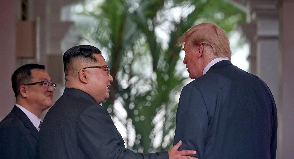 قمة ترامب وكيم جونغ أون