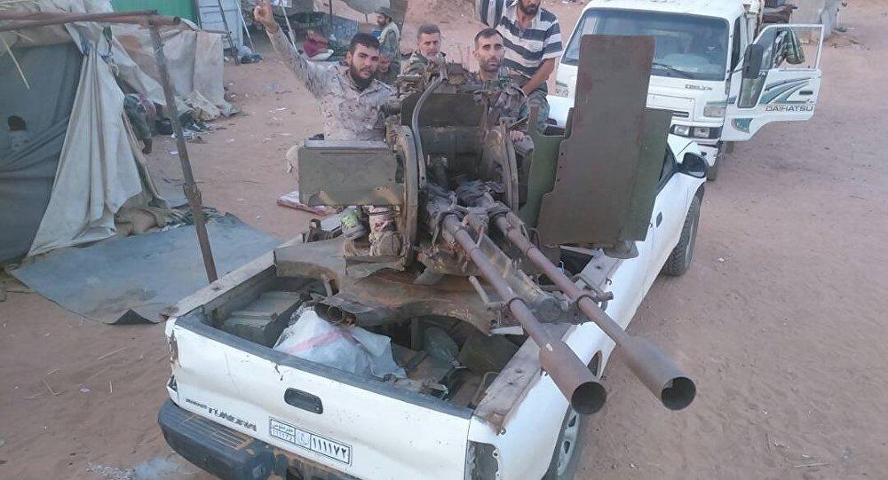 الجيش السوري في البادية جهة ريف السويداء