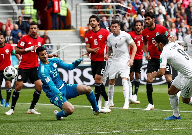 مباراة مصر وأوروغواي