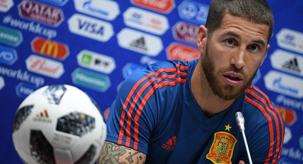 اللاعب الإسباني سيرخيو راموس، كأس العالم 2018، روسيا
