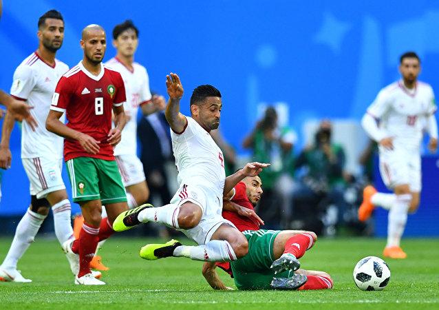 مباراة المغرب وإيران
